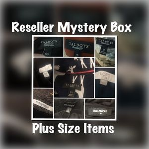 9 Item Plus Size Reseller Mystery Box